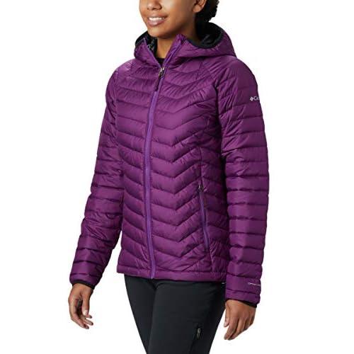 Columbia Women's Powder Lite Hooded Winter Jacket, Water...