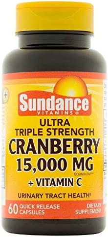 Sundance TS Cranberry 15000 mg Tablet
