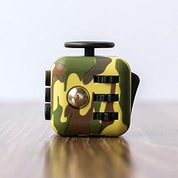 Verde CamuflajeAmazon esJuguetes Color Y Anti Estres Juegos Cubo rdxBoCeW