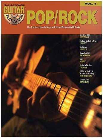 Guitar Play-Along Volume 4: Pop/Rock. Partituras, CD para Acorde ...