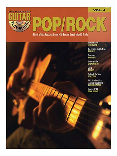 Guitar Play-Along Volume 4: Pop/Rock. Partituras, CD para Acorde ...