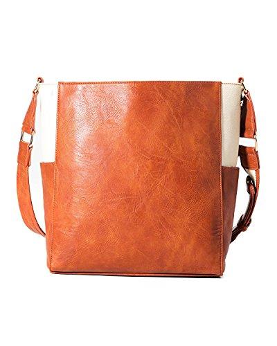 marrón Elche Brown Desigual 6049 Bag A4UwtxqnH