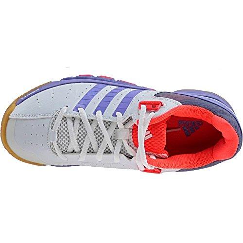 adidas Quickforce 7 Zapatillas de bádminton para mujer - Blanco blanco