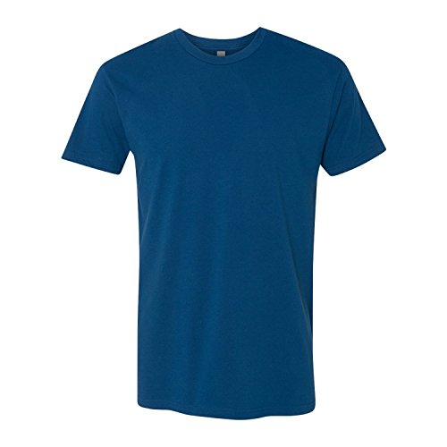 Next Level Mens Premium Fitted Short-Sleeve Crew T-Shirt - Large - Cool (Cool Fitted T-shirt)