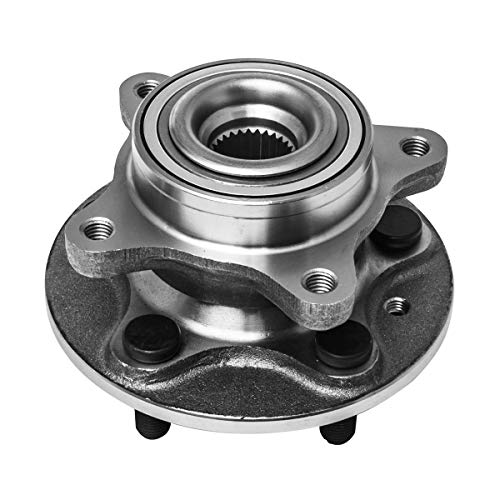 Front Wheel Hub and Bearing Assembly Left or Right Compatible Land Rover LR3 LR4 Range Rover Sport AUQDD 515067 [ 5 Lug ]