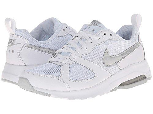 NIKE Wmns Nike Air Max Muse - Calzado de deporte de material sintético mujer White/MetallicPlatinum