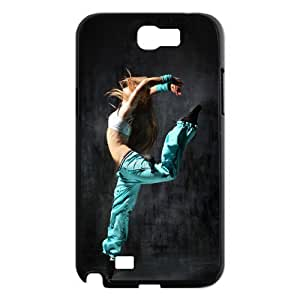 Samsung Galaxy Note 2 N7100 Girl Phone Back Case Custom Art Print Design Hard Shell Protection LK059120