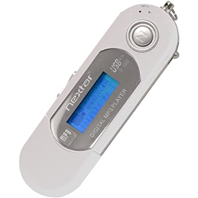 Nextar MP3 Wma Player 2GB White: Electronics