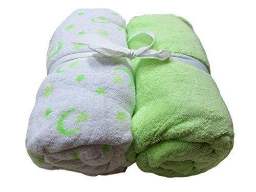 Cozy Fleece Microplush Sheets Green