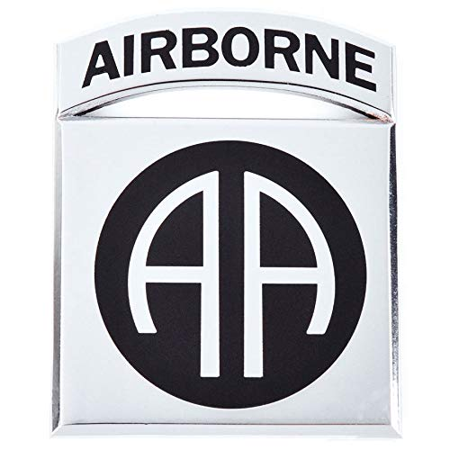 Medals of America 82nd Airborne Division Officially Licensed Car Emblem Multicolored