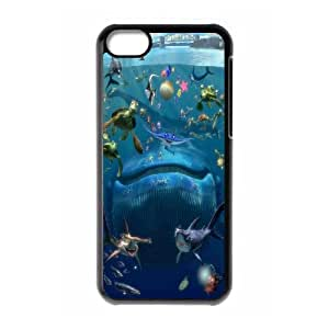 FOR Iphone 5c -(DXJ PHONE CASE)-Finding Nemo - Keep Smile-PATTERN 7