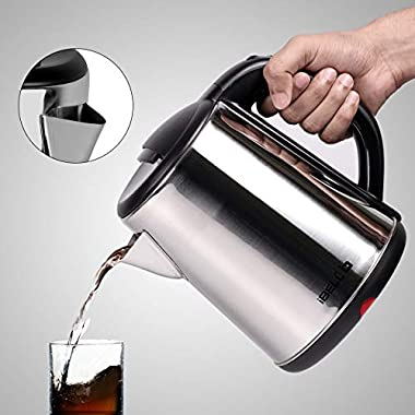 iBELL 1500 W Stainless Steel High Polished Electric Kettle 10