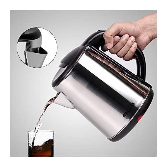 iBELL 1500 W Stainless Steel High Polished Electric Kettle 3
