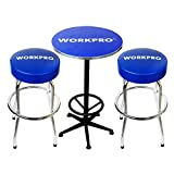 WORKPRO W004401A Workshop Table & Two Stool Combo (Renewed)