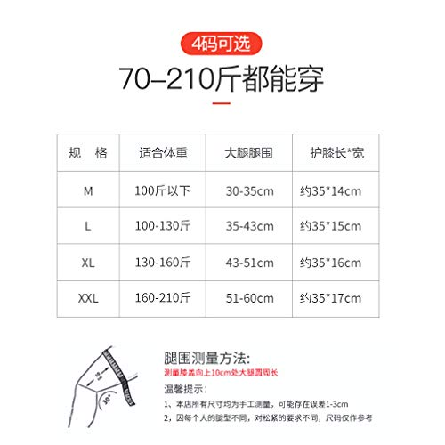 TY BEI Kneepad Kneepad - Cashmere Protection Knee Warm Men and Women Winter Thickening Old Man Cold Leggings Paint wear Joints self-Heating @@ (Color : Black) by TY BEI (Image #1)