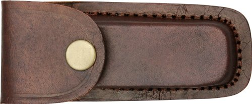 Brown Michigan Leather - Pakistan 4in. Leather Belt Sheath, Brown
