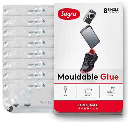 Built Inside By Dishwasher Side - Sugru Moldable Glue - Original Formula - White 8-Pack