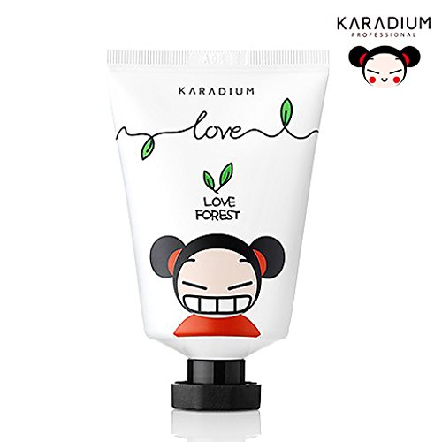 [KARADIUM] PUCCA LOVE EDITION Soft Hand Cream 60ml / Moisturizing & Soothing Daily Hand Cream / Soft Sherbet Type (Love Forest)