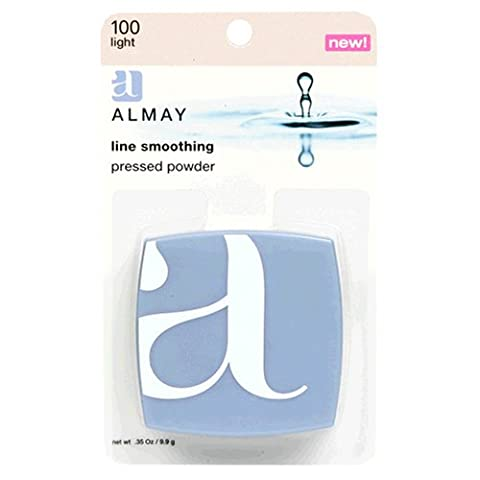 Almay Line Smoothing Pressed Powder, Light, 0.35 Ounce