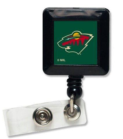Nhl Official Minnesota Wild Retractable Badge Holder