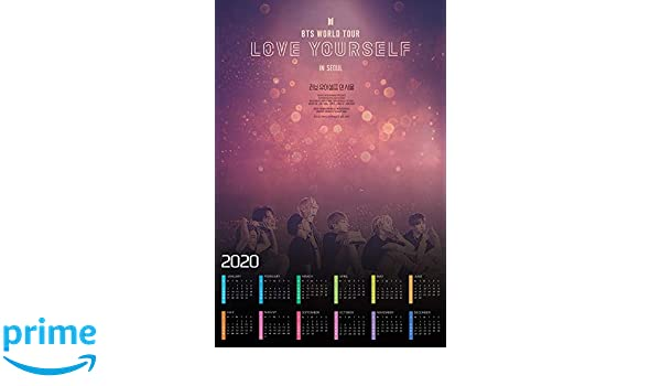 Bts World Tour 2020.Amazon Com Hotprint Bts World Tour Love Yourself In Seoul