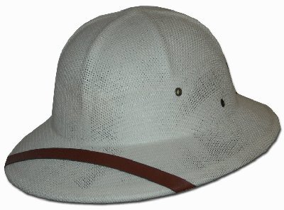 DPC Global Trends Men's Fine Twisted Toyo Pith Helmet, Ta...
