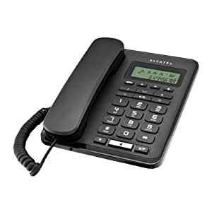 Alcatel corded analog phone T50 - Black