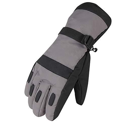Waterfly Men's Warm Waterproof Winter Outdoor Glove Cycling Gloves Biking Gloves Snowmobile Snowboard Ski Gloves Athletic Gloves Mittens