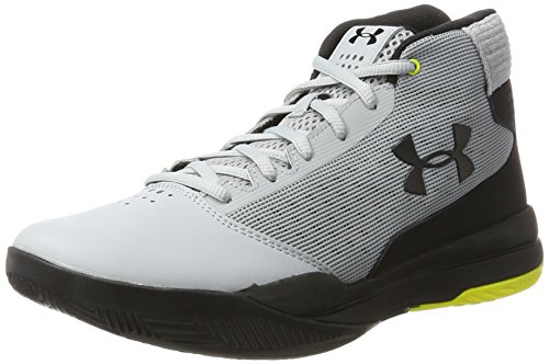 UA Under Basketball Gray Overcast Gris Jet Armour Homme de 2017 Chaussures fwrfq5