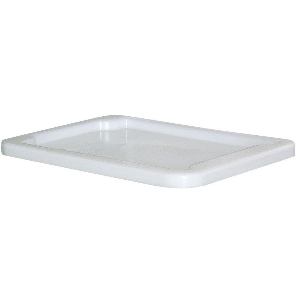 Stülpdeckel für Eurobehälter/Drehstapelbehälter 800 x 600 mm, weiß BRB