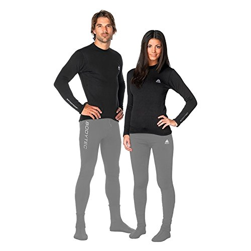 New Tusa WaterProof Unisex BodyTec Top (Medium) with 260 Gram Polyester Spandex for Drysuit Undergarment, Surface Wear or Sleepwear at the Base Camp by Waterproof (Image #1)