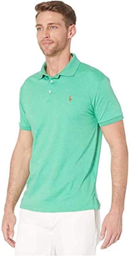 Polo Ralph Lauren Mens Custom Fit Short Sleeves Polo Shirt