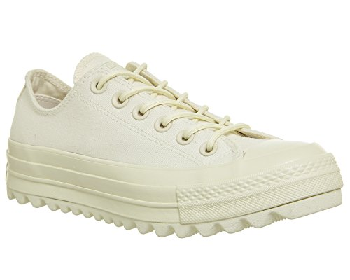 Converse Ctas Lift Ripple Ox, Sneaker Unisex – Adulto Beige (Natural/Natural/Natural)