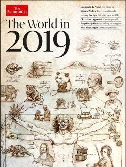 Magazine Economist - The Economist Magazine The World in 2019 Special Edition