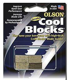 Olson Saw CB50030BL Shopsmith Band Saw Accessory Cool Blocks from Blackstone Industries, LLC