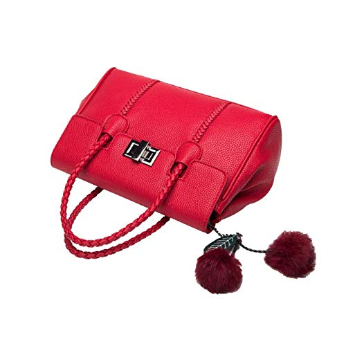 Lady Simple Elegant Bag Red Temperament Retro Charming Classic Yxpnu Noble dqxg0dwI