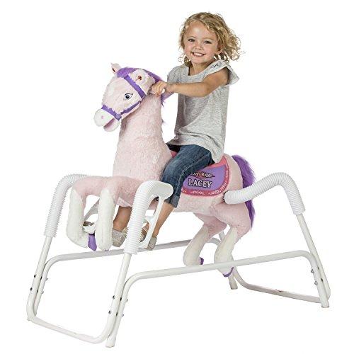 Rockin' Rider Lacey Talking Plush Spring Horse