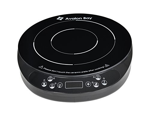 Induction Cooktop by Avalon Bay - 1800 Watts - Euro Edition (Temperature in Celsius) IC200B