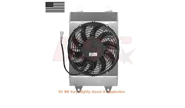 Amazon.com: 2015-2018 Yamaha YXC700 Viking VI Replacement Radiator Cooling Pusher Fan: Automotive