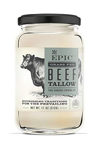 Epic Animal Oil, Beef Tallow, 11 Ounce | 6 Pack