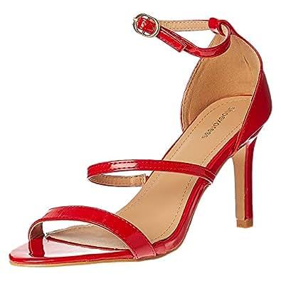 Shoexpress Heels Sandals for Women - Red