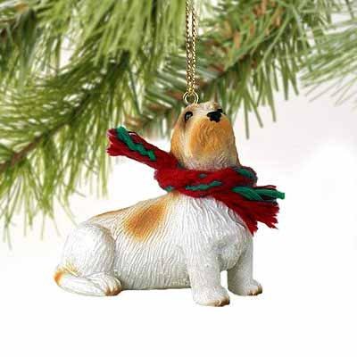 Petit Basset Griffon Vendeen Miniature Dog Ornament (Basset Griffon Vendeen Figurine)