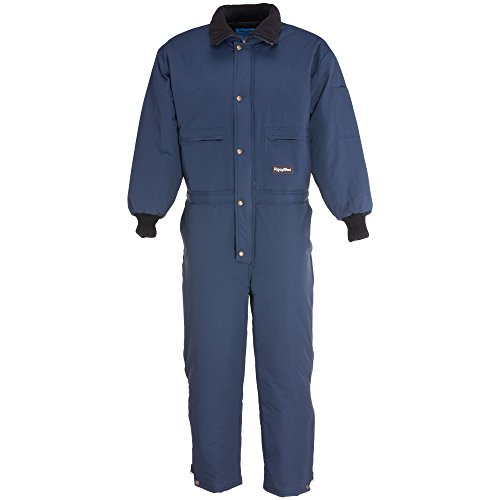 RefrigiWear Men's ChillBreaker Coveralls Navy Medium