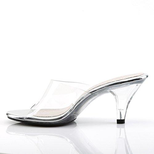Donna Da Bianco 301 Diapositive Belle Chiaro Pleaserusa Sandali UWnxcAF6