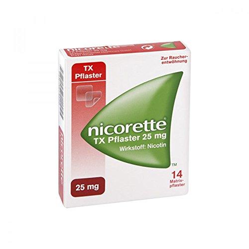 Nicorette TX Pflaster 25 mg, 14 St