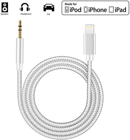 4FT 3.5MM AUX REPLACEMENT CABLE BLACK W//CONTROL TALK IPHONE 5 4S 4 3G IPOD TOUCH