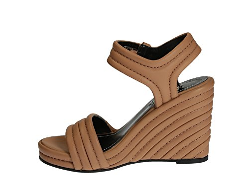 Cuero tan Número WAVI0 en cuñas modelo color de Balenciaga 2702 cuero sandalias de 410949 x1q4Wn0OY