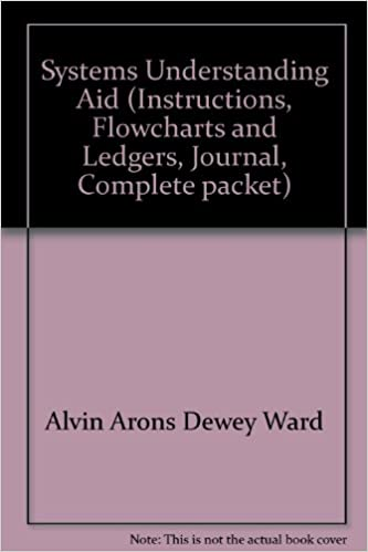 Amazon systems understanding aid instructions flowcharts and systems understanding aid instructions flowcharts and ledgers journal complete packet 7th edition fandeluxe Image collections