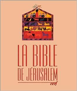 Amazon Fr Bible De Jerusalem Gros Caracteres Couverture