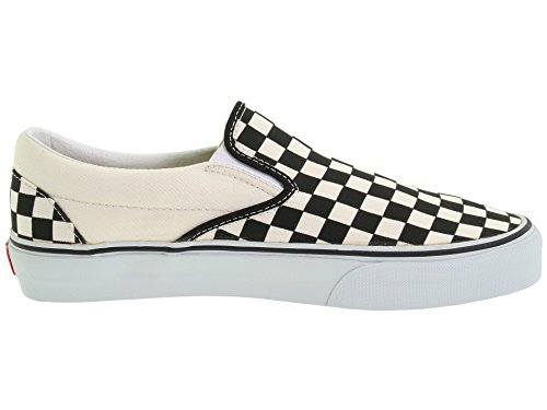Black Slip Off Check White Vans On Classic Shoes Skate 65w7Xq